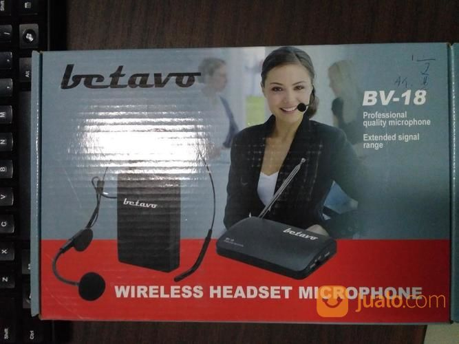 Betavo Wireless Headset Microphone BV-18 (15987377) di Kota Tangerang Selatan
