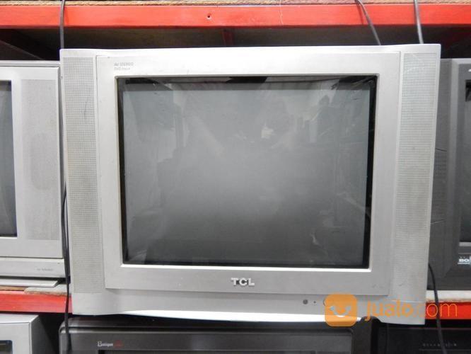Tv 21inc TCL Layar Datar Jernih Suara Ok Remot Katapang SoReaNG (15991789) di Kab. Bandung