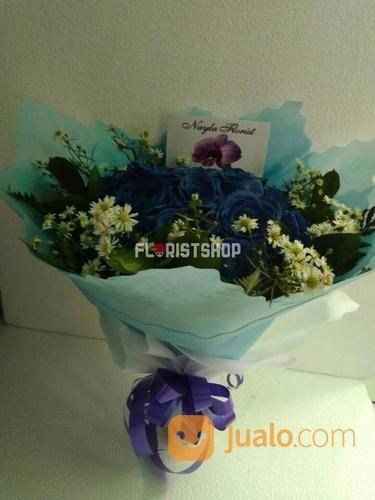 Bunga Buket Mawar Biru Jakarta Selatan Jualo