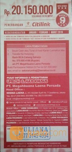 Laena Paket Umroh Promo (16022285) di Kab. Pemalang