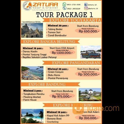 Harga Paket Di Zatura Tour & Travel (16025253) di Kota Bandung