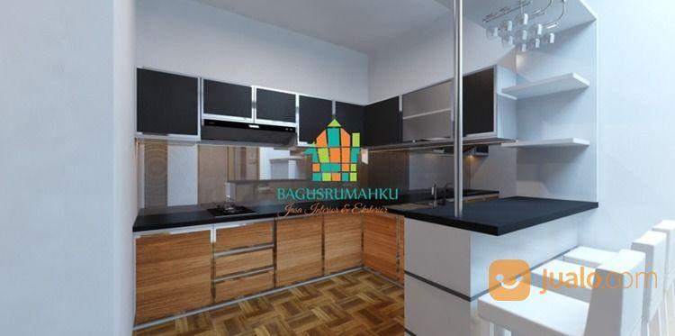 Custome Furniture Kitchen Set Mini Bar Minimalis Kab Karawang Jualo