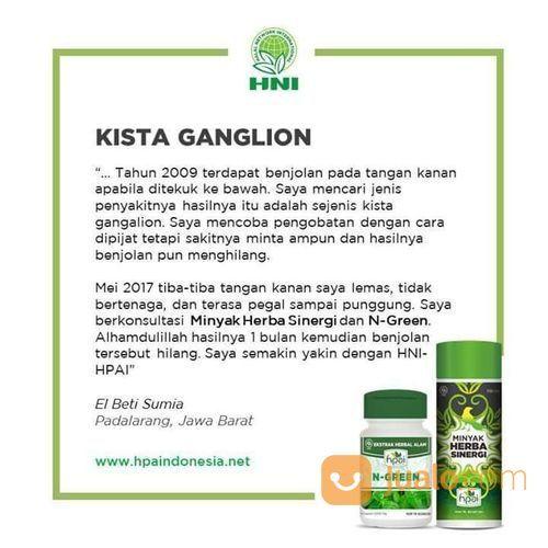 Obat Herbal Kista Ganglion HPAI