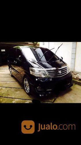 Toyota Alphard G 2.4 Hitam MULUS (16077117) di Kota Makassar