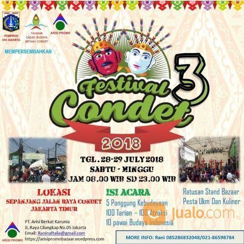 Festival Condet 3 (16100157) di Kota Jakarta Timur