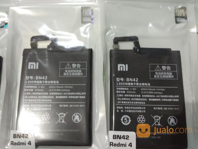 Battery Xiaomi Redmi 4/BN42 Berkualitas (16117165) di Kota Yogyakarta