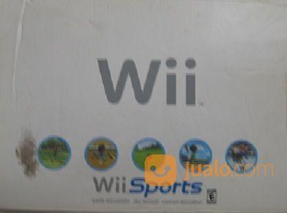 Nintendo WII Sports, Import, Console White (16121289) di Kota Bandung