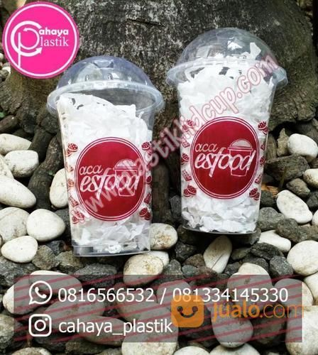 Sablon Cup Plastik 16 Oz 7 Gram (16127297) di Kota Malang
