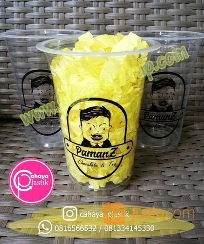 Sablon Cup Plastik 16 Oz (16137781) di Kota Malang