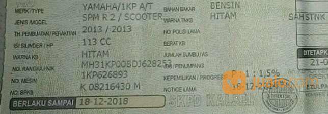 """Mio Soul GT """" 2013 - Pajak Dan Plat Hidup (16157909) di Kota Banjarmasin"""