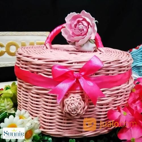 Keranjang Anyaman Rotan Gift Box (16232645) di Kota Surabaya