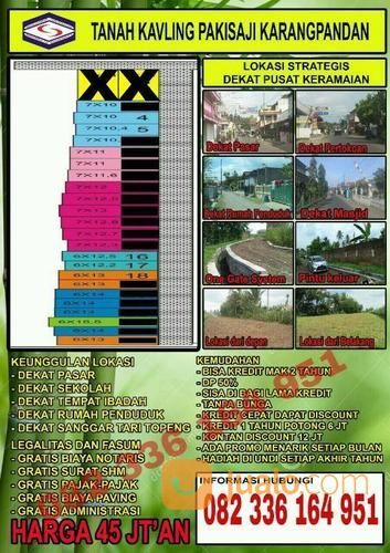 TANAH KAVLING PAKISAJI DAN SUMBERPUCUNG KABUPATEN MALANG (16245573) di Kota Malang