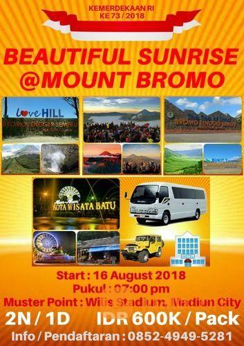 Paket Wisata Sunrise Gunung Bromo (16265093) di Kab. Madiun