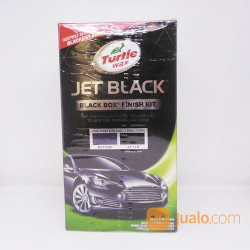 TURTLE WAX JET BLACK (Black Box Finish Kit) T-3KT (16331141) di Kota Semarang