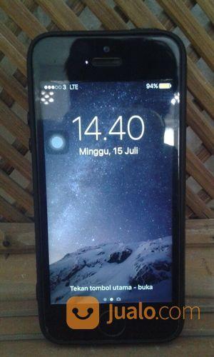 Iphone 5 16GB Gray Segel (16364841) di Kota Cilegon