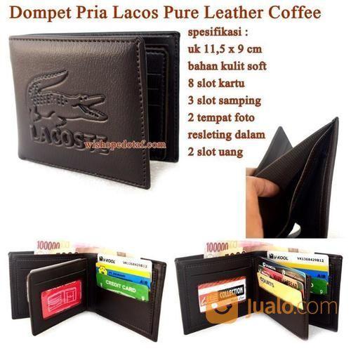 Dompet Kulit Lacos Pure Leather (16381181) di Kota Jakarta Timur