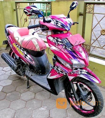 Honda Vario 110 Karbu Warna Pink Tahun 2008 Yogyakarta Jualo