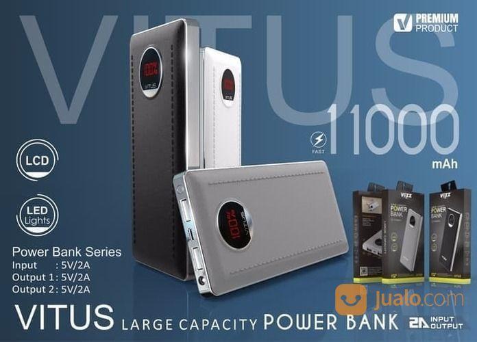 Powerbank Vizz Vitus - 11.000 MAh Garansi 1 Tahun (16459373) di Kota Surakarta