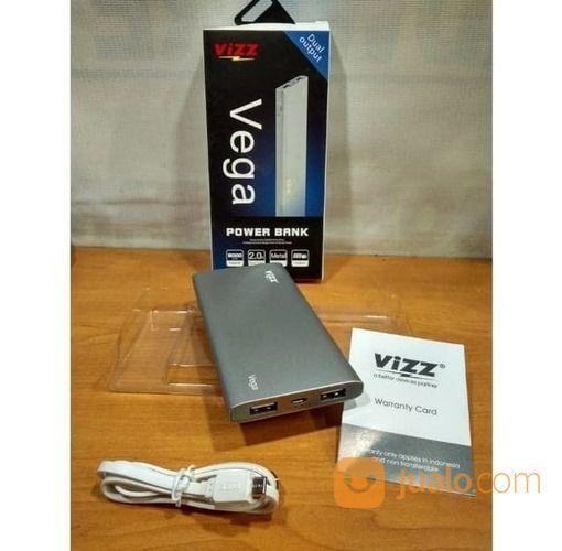 Vizz Vega 8000 MAh Powerbank Dual Port Garansi 1 Tahun (16460929) di Kota Surakarta