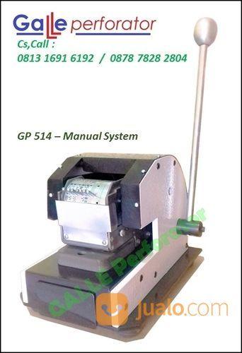 Mesin Perforasi,, Mesin Perforator -- GALLE PERFORATOR GL 514 / Manual System (16464717) di Kota Bekasi