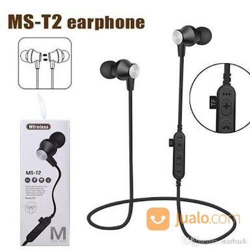 Stereo Wireless Headset / MS-T2 Wireless Headset (16499585) di Kota Surakarta