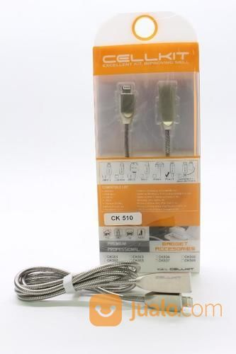 KABEL USB DT+CHG CELLKIT 510 (SPRING, IPHONE6, 100CM) (16508809) di Kota Surabaya