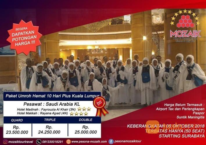Umroh 23Juta Plus City Tour Malaysia (16512797) di Kota Surabaya