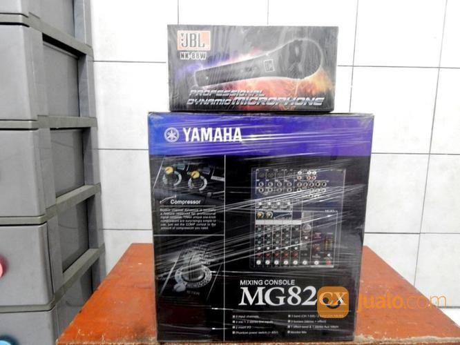 Mixer Yamaha MG82cX Gres Plus 1Bh Mic JBL NK-88W Gres Katapang SoReaNG (16524409) di Kab. Bandung