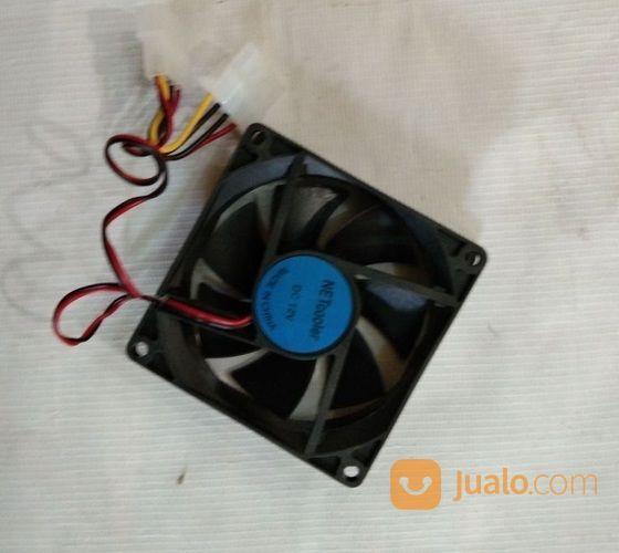 Fan Pendingin Casing 8cm Hitam # Aksesoris Komputer (16531053) di Kota Surabaya