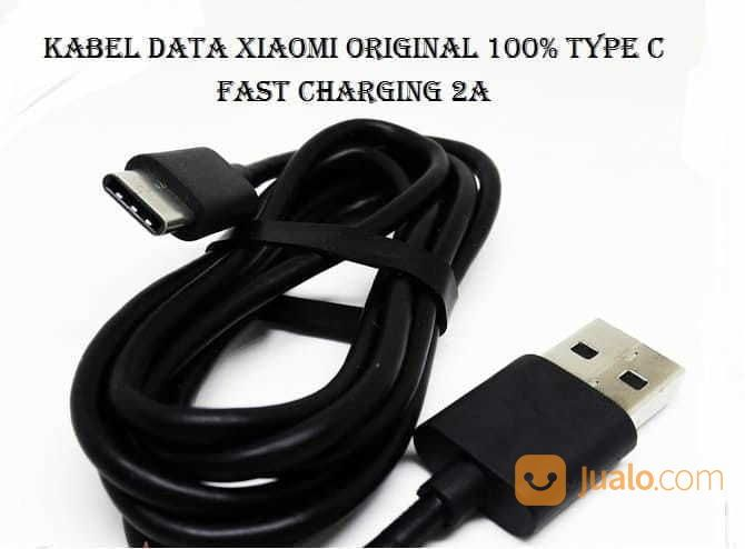 Kabel Data Original 100% Xiaomi USB TYPE-C Cable Data Charger (16546331) di Kota Surakarta