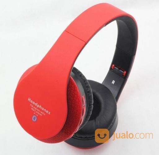 Stereo Headphones Bluetooth P13 New Arrival ( Tf Card Slot + FM ) (16558987) di Kota Surabaya