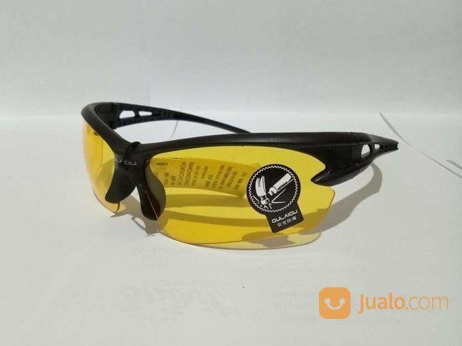Kacamata Malam Anti Silau Night View Glasses Vision Type Sports