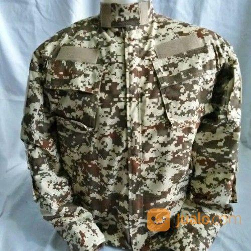 Jaket Tactical/Bdu Desert/Loreng Gurun Material Luar Ripstop Jenis . (16610127) di Kab. Bandung