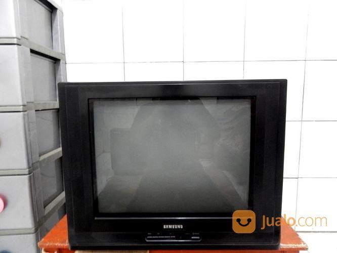 """Tv 21"""" Samsung Layar Datar Remot Mesin Asli Jernih Katapang SoReanG (16628547) di Kab. Bandung"""