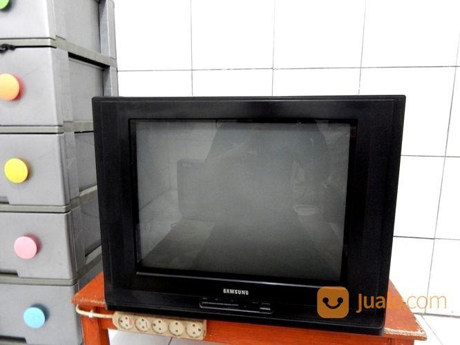 """Tv 21"""" Samsung Layar Datar Remot Mesin Asli Jernih Katapang SoReanG (16628555) di Kab. Bandung"""
