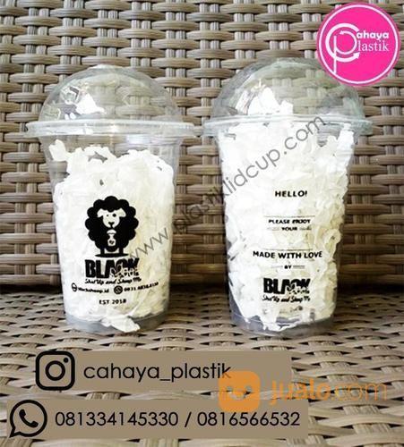 Sablon Cup Plastik 14 Oz 5 Gram (16645887) di Kota Malang