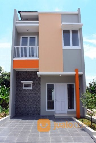 Rumah Minimalis 2 Lantai Sederhana Modern Di Mekarsari Depok Griya Siwu Depok Jualo