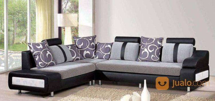 Sofa sudut elegan perlengkapan rumah tangga lainnya 16688059