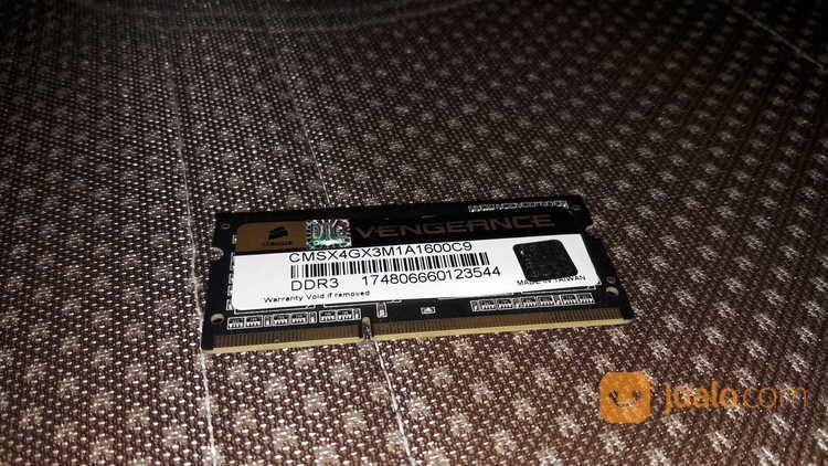 RAM CORSAIR DDR3 4GB 1600 MHz SO-DIMM (16691679) di Kota Bekasi
