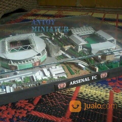Miniatur stadion hobi seni 16703463