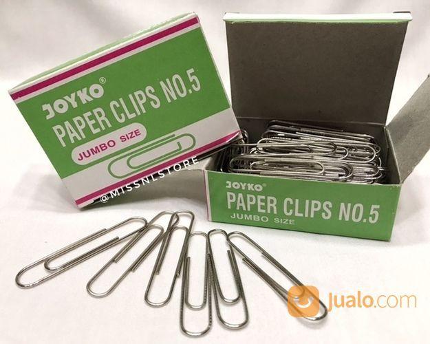 Joyko Paper Clip Jumbo Size Isi 100 Pcs (16739771) di Kota Jakarta Selatan
