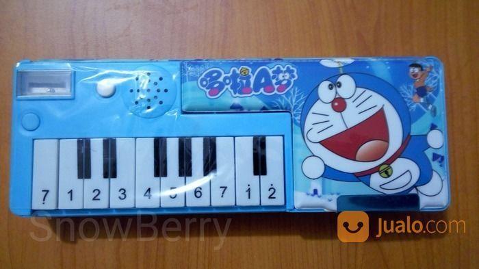 Wadah Pensil Doraemon Piano (16953651) di Kab. Bandung Barat