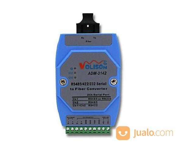VOLISON ADM-3142-SC RS-232/485/422 Fiber Converter (Dual Fiber SC, SM 20km) (16958903) di Kota Jakarta Pusat