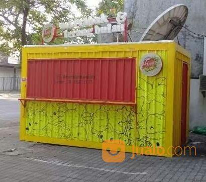 Booth Kontainer Cafe Resto Unik Modern Semarang Jualo