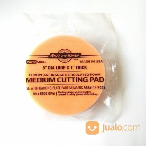 "Foam Pad - Buff And Shine Orange For Medium Cutting Pad Size 5.5"" (17102615) di Kota Semarang"