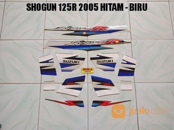 Striping Shogun 125R 2005 Hitam - Biru (17109399) di Kota Jambi