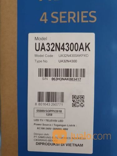 Samsung smart led tv lcd dan led 17127595