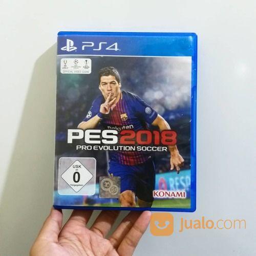 Kaset Game Playstation 4 Pes2018 (17131719) di Kota Bekasi