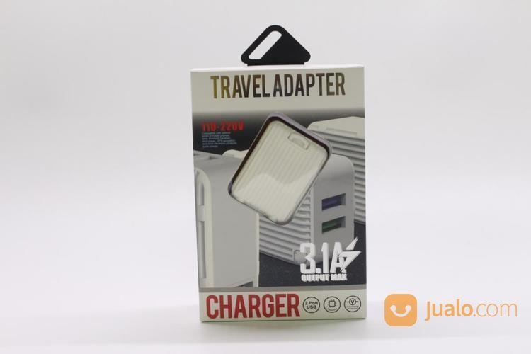 CHARGER USB 1802 VODA-06 (2 USB) (17134731) di Kota Surabaya