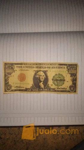 Uang Kuno Amerika Pecahan 1 000 000 Dollar Usa Tahun 1928 Kab Sumbawa Barat Jualo